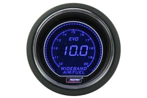 ProSport Wideband Air Fuel Ratio Gauge w/Bosch Sensor Blue 52mm ( Part Number: 216EVOAFRWB4.9-WO)