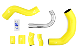 mountune Charge Pipe Upgrade Kit Yellow ( Part Number: 2364-CPK-YEL)