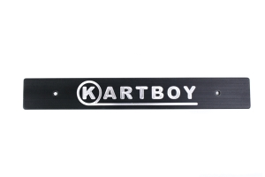 Kartboy Subaru Front License Plate Delete Black ( Part Number:  KB-055-PL-BLK)