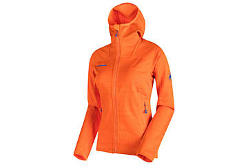 Veste polaire Mammut Eiswand Guide ML Hooded pour femmes