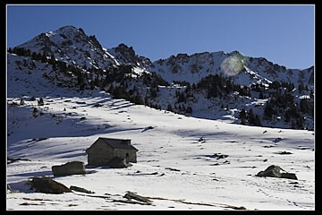 Cabane d'Aygues Cluses