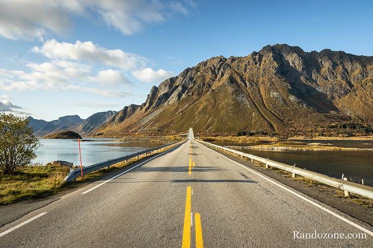 Route dans les Lofoten