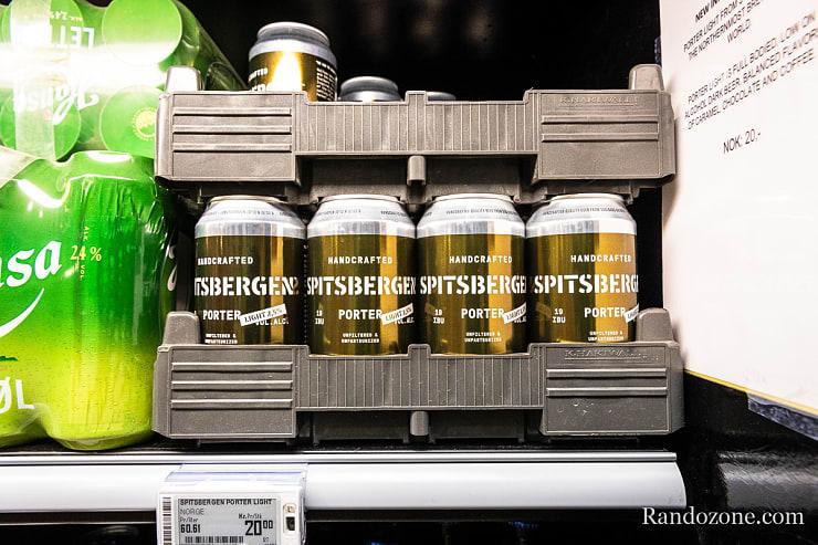 Bière du Svalbard