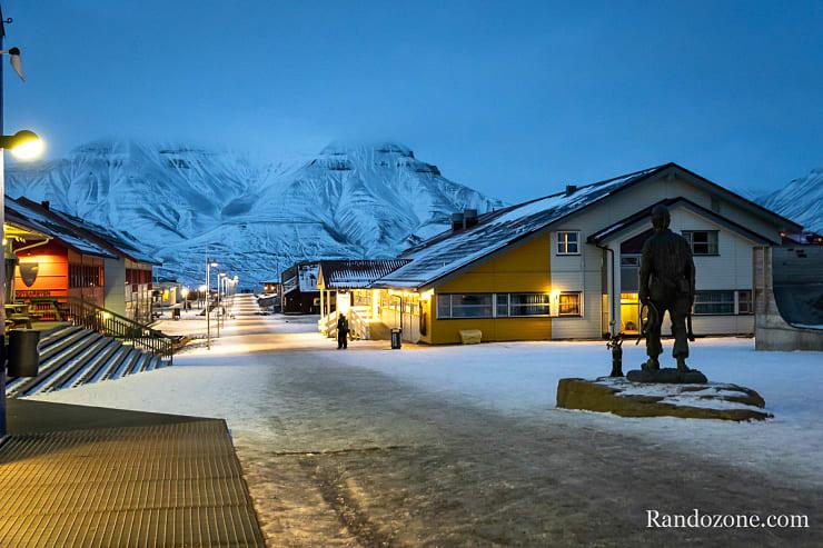 Centre ville de Longyearbyen
