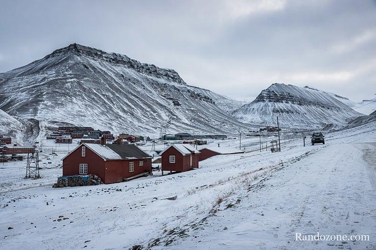 Maisons au Svalbard