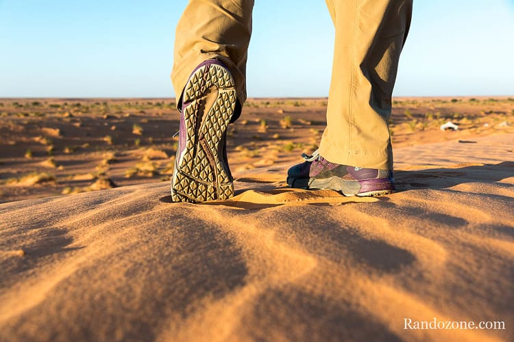 Test des chaussures Merrell Bare Access Flex Shield