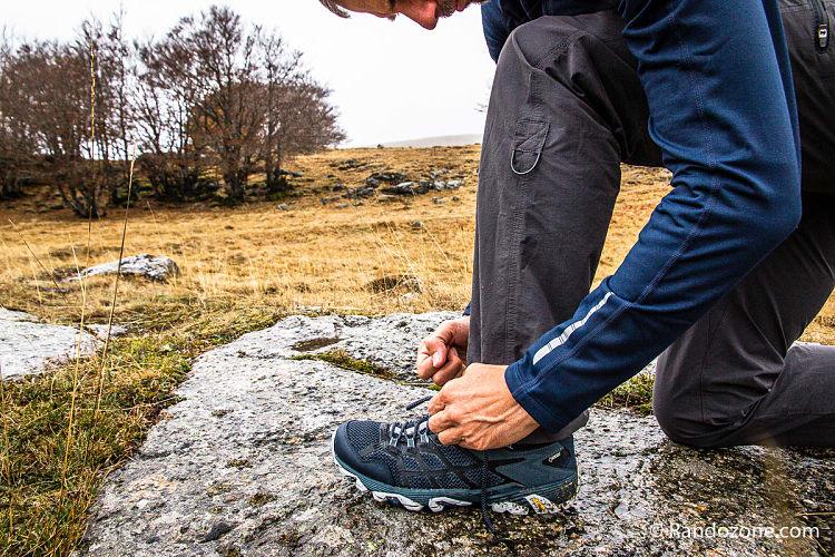 Test des chaussures Merrell Moab FST 2 GTX
