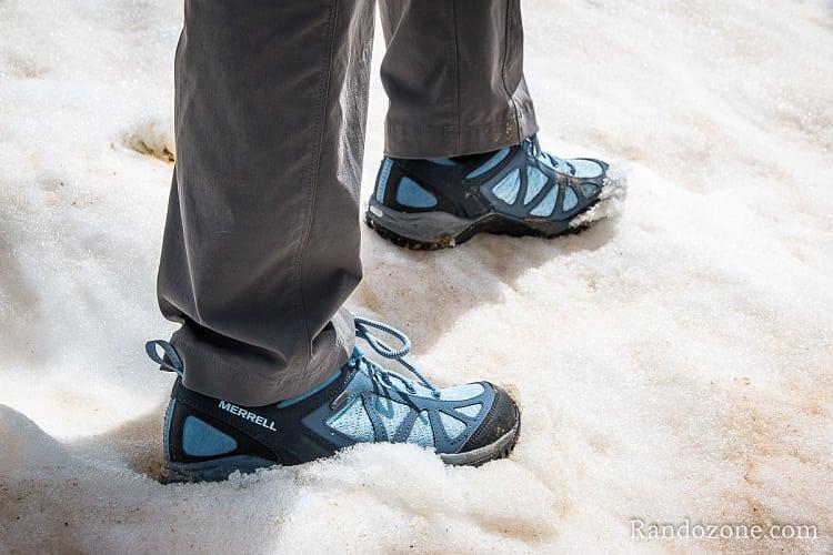 Test des chaussures Merrell Siren Sport Q2 GORE-TEX®