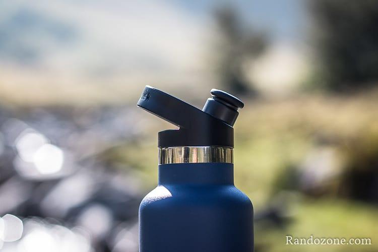 Test de la gourde Hydroflask 24Oz ouverture standard