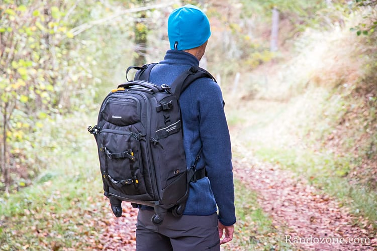 Test du sac photo Vanguard Alta Fly 55T