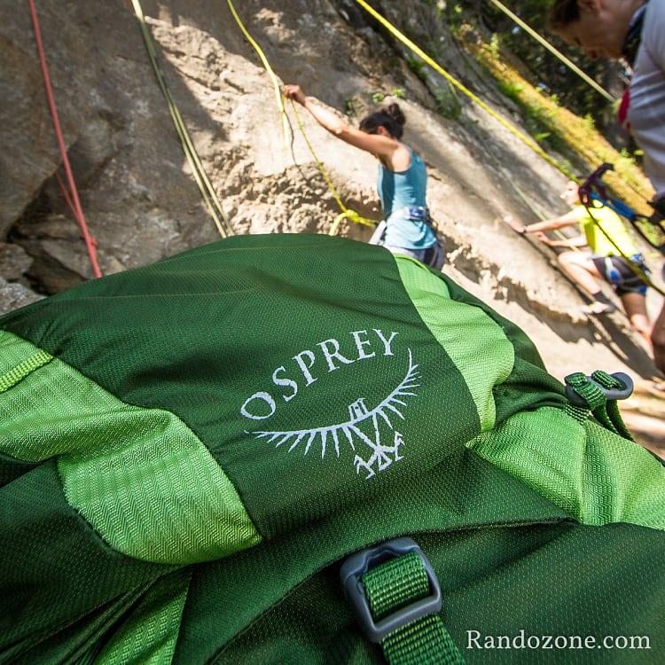Test du sac à dos Osprey Exos 38