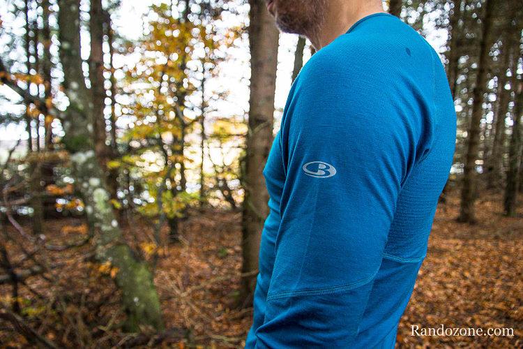 Test du tee-shirt Icebreaker BodyfitZONE 150