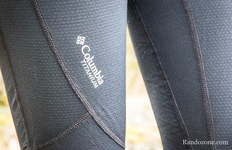 Test du Collant Columbia Collant Midweight Stretch Omni-Heat 3D