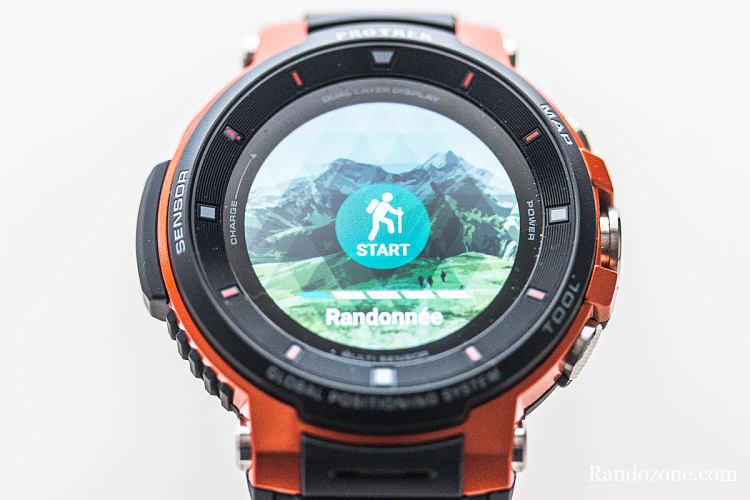 Activité Randonnée de la montre Protrek F30