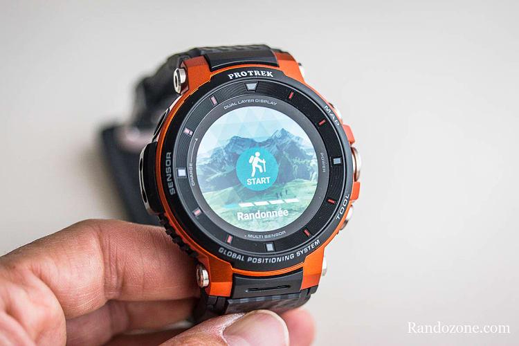 ModeRandonnée de la montre Protrek F30