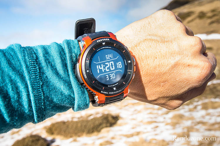 Test de la montre Casio F30 au Soum de Moustayou