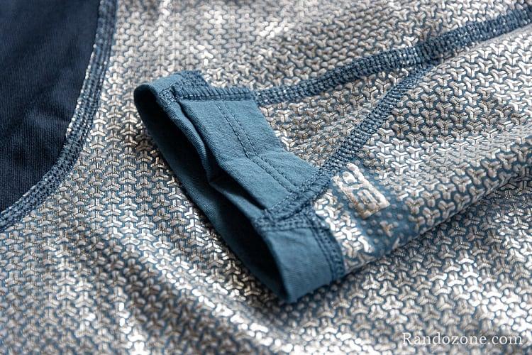 Tee shirt Columbia Omni-Heat 3D Knit Crew Top