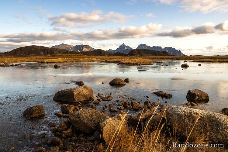 Superbe paysage dans les îles Lofoten