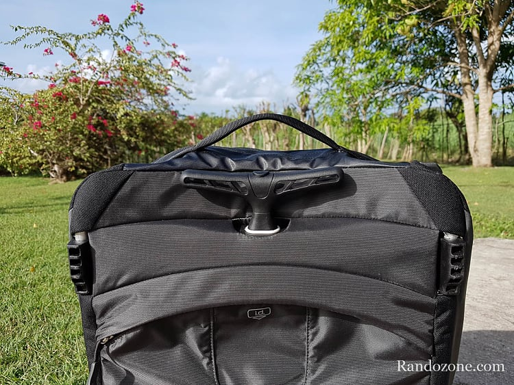 Test de la valise Osprey Rolling Transporter Global Carry-On 30