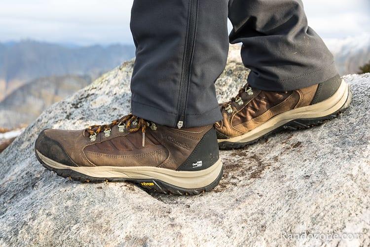 Chaussures de randonnée Columbia Botte 100MW Titanium OutDry