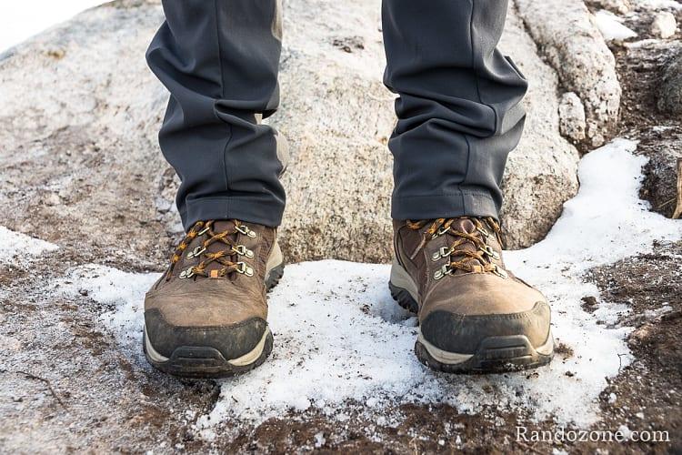 Chaussures de randonnée Columbia Botte 100MW  OutDry