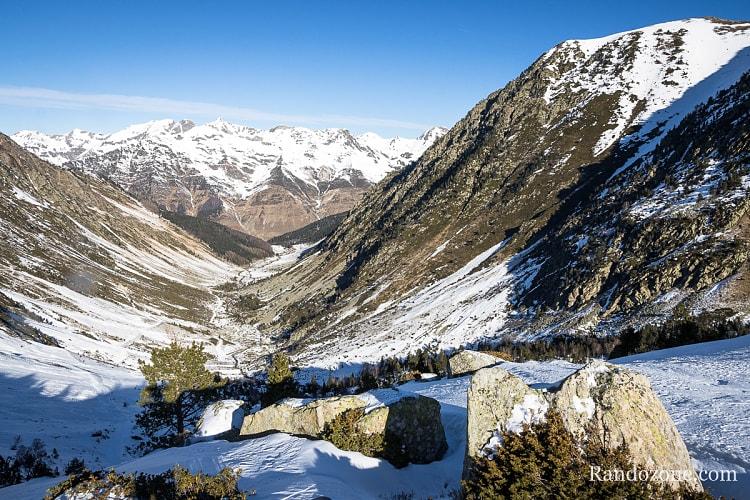 Retour en vue de la vallée de Barèges