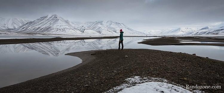Promenade à Longyearbyen