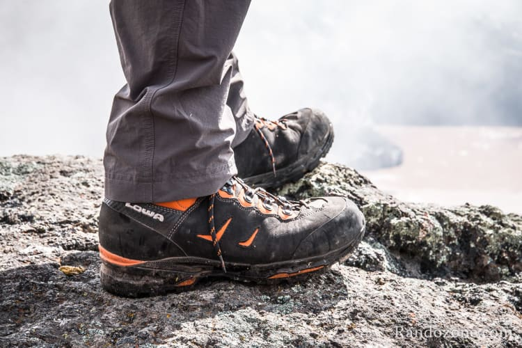 Test des chaussures Lowa Camino Gtx pour homme