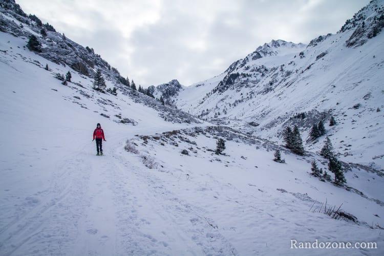 Randonnée en raquettes dans les Pyrénées