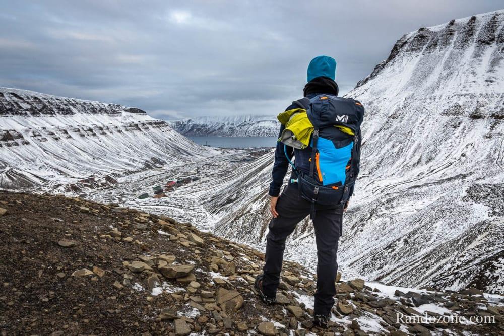 Randonnée à Trollsteinen au Svalbard (Norvège)