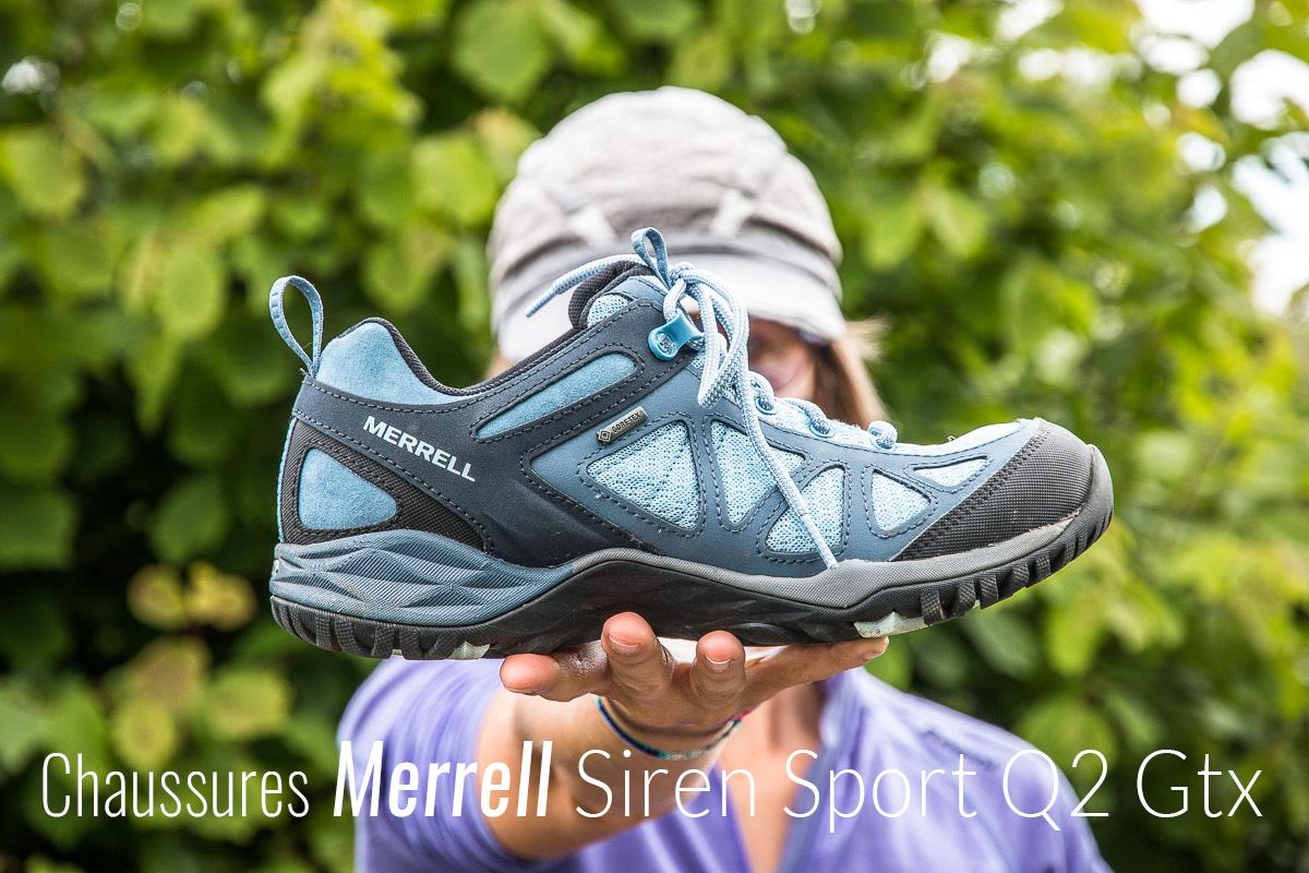 Chaussures de Randonn/ée Basses Femme Merrell Siren Sport Q2