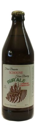 Schoune RurAle - Golden Ale/Blond Ale
