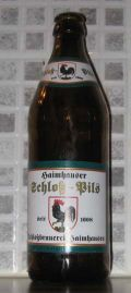 Haimhauser Schloss Pils - Pilsener