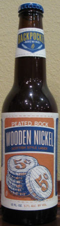 Backpocket Wooden Nickel - Scottish Ale
