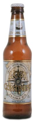 Grand Teton Lost Continent Double IPA - Imperial/Double IPA