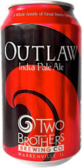 Two Brothers Outlaw IPA - India Pale Ale &#40;IPA&#41;