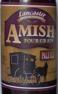 Lancaster Amish Four Grain Ale - American Pale Ale