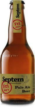 Septem Fridays Pale Ale - English Pale Ale