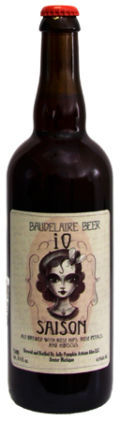 Jolly Pumpkin Baudelaire Beer iO Saison - Saison