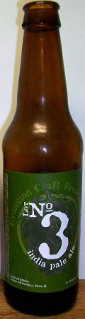 Evolution Craft Brewing Lot No3 IPA - India Pale Ale &#40;IPA&#41;
