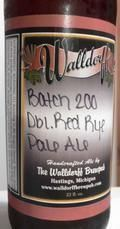 Walldorff Batch 200 Double Red Rye Pale Ale - American Strong Ale 