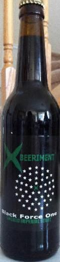 Xbeeriment Black Force One - Imperial Stout