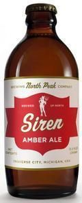 North Peak Siren Amber Ale - Amber Ale