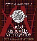 Highland 15th Anniversary Auld Asheville Vintage Ale - Old Ale