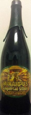 Cigar City Hunahpus Imperial Stout - Bourbon Barrel-aged - Imperial Stout