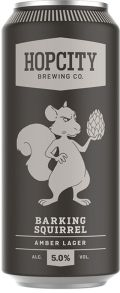 Hop City Barking Squirrel Lager - Amber Lager/Vienna