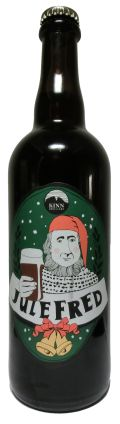 Kinn Julefred 4.7% - Brown Ale