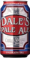 Oskar Blues Dales Pale Ale - American Pale Ale