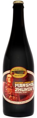 Cigar City Marshal Zhukovs Imperial Stout - Bourbon Barrel-aged - Imperial Stout