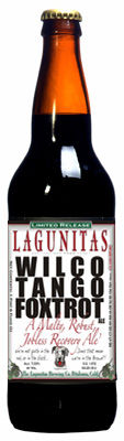 Lagunitas Wilco Tango Foxtrot &#40;WTF&#41; Ale - Brown Ale